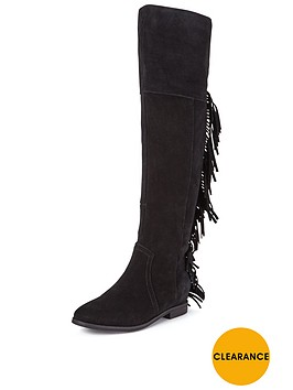 suki-suede-over-the-knee-flat-tassle-bootsnbsp