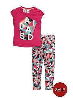 adidas-little-girl-tee-and-legging-set
