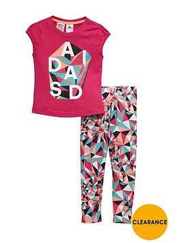 adidas-little-girl-tee-and-legging-set