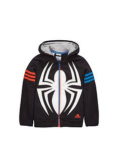 adidas-younger-boys-spidermannbsphoodie