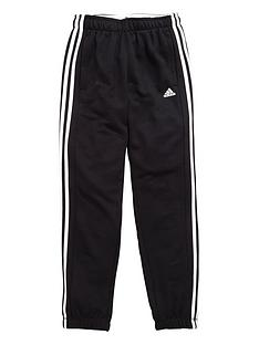adidas-adidas-yb-essentials-3-stripe-fleece-pant