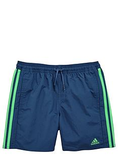adidas-boys-stripe-swim-shorts