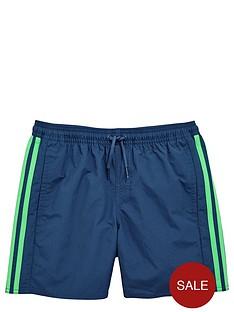 adidas-boys-stripe-swim-shorts