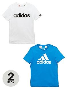 adidas-adidas-yb-pack-of-two-logo-tees