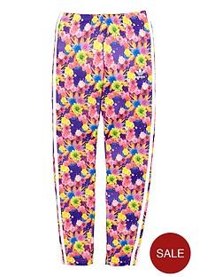 adidas-originals-girls-floral-three-stripe-leggings