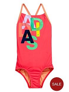 adidas-girls-logo-swimsuit
