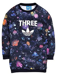 adidas-originals-girls-floral-trefoil-long-sweat-top