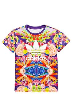 adidas-originals-girls-floral-t-shirt