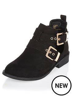 river-island-cut-out-double-buckle-flat-boot