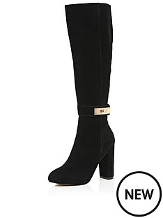 river-island-knee-high-boots-with-turn-lock-trim