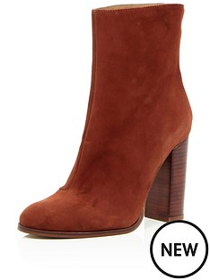 river-island-river-island-smart-clean-high-block-heel-boot