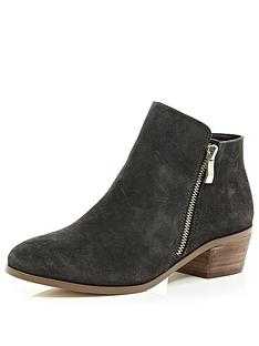 river-island-western-heeled-ankle-boots