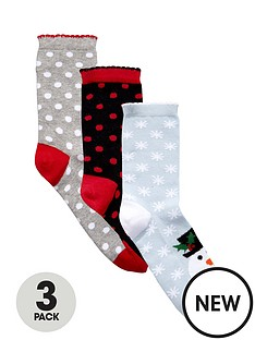 pretty-polly-3-pack-christmas-novelty-socks