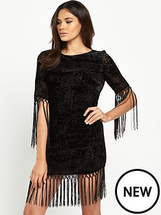 river-island-fringe-detail-shirt-dress