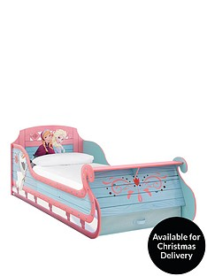 disney-frozen-sleigh-bed-frame-with-optional-mattress