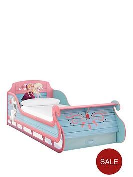 disney-frozen-sleigh-bed-frame-with-optional-mattress