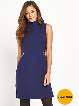 v-by-very-high-neck-zip-detail-dress