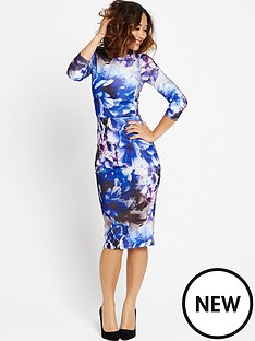 myleene-klass-floral-bodycon-dress