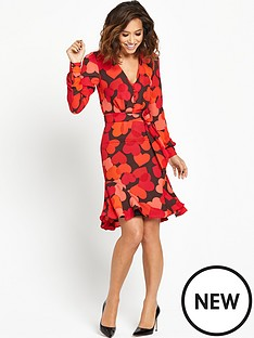 myleene-klass-printed-tea-dress