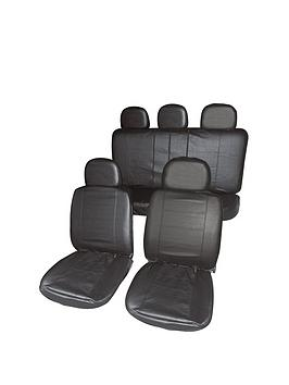 Streetwize Accessories Streetwize Accessories Leather Look Car Cover Seats Picture