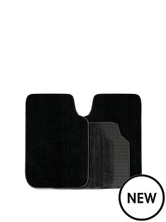 streetwize-accessories-luxury-deep-pile-black-car-mat-set