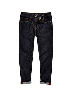 river-island-boys-dark-rinse-slim-jeans
