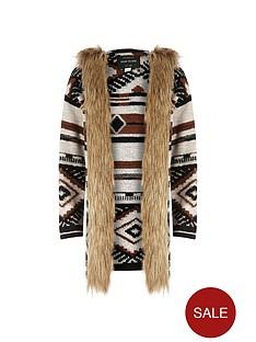 river-island-girls-navajo-blanket-coat-with-faux-fur