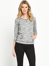Loop Back Sweat Top