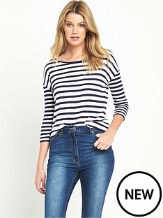 south-drop-shoulder-jersey-top