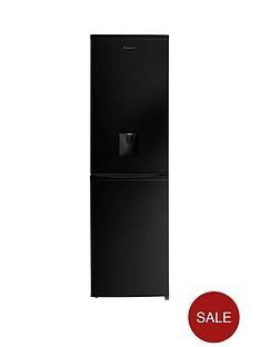 candy-ccbf5182bwknbsp55cmnbspfrost-free-fridge-freezer-with-water-dispenser-black