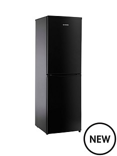 hoover-hoover-hsc17155be-175cm-x-55cm-static-fridge-freezer-black