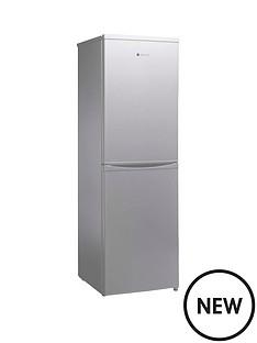 hoover-hoover-hsc17155se-175cm-x-55cm-static-fridge-freezer-silver