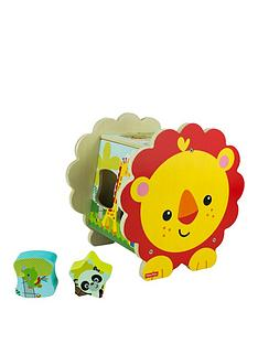 fisher-price-fisher-price-wooden-lion-shape-sorter