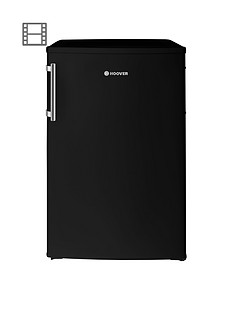 hoover-hvtl542bhk-55cmnbspunder-counter-larder-fridge-with-external-handle-black