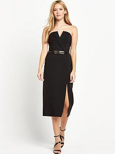 miss-selfridge-miss-selfridge-bandeau-tux-midi-dress