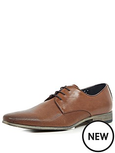 river-island-embossed-leather-mens-shoes