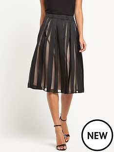 miss-selfridge-stripe-organza-midi-skirt