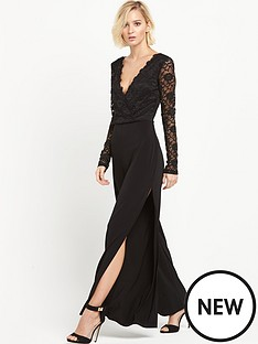 miss-selfridge-lace-wrap-wide-leg-jumpsuit