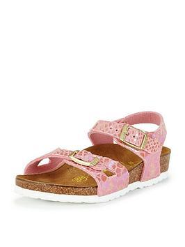 birkenstock-girls-rio-snake-rose-print-sandals