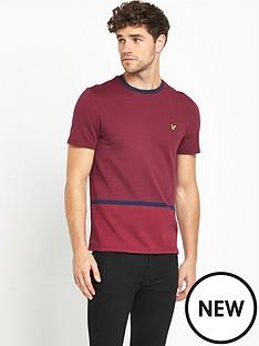 lyle-scott-fairisle-t-shirt