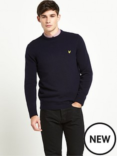 lyle-scott-crew-neck-lambswool-jumper