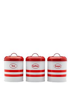 prestige-vintage-3-piece-tea-coffee-and-sugar-canister-set-in-red