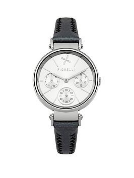fiorelli-multinbspfunction-silver-dial-with-black-leather-strap-ladies-watch