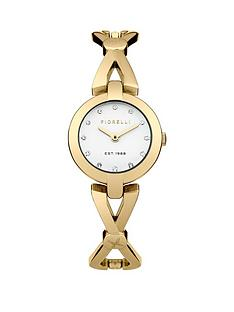 fiorelli-white-dial-and-gold-tone-bracelet-ladies-watch