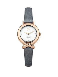 fiorelli-white-dial-grey-leather-strap-ladies-watch