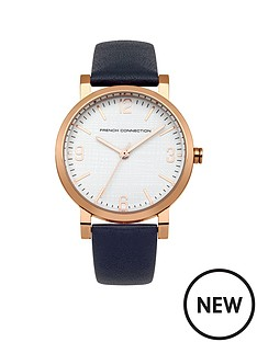 french-connection-french-connection-catherine-white-dial-with-blue-leather-strap-ladies-watch