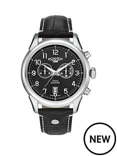 roamer-chronograph-black-dial-soleure-black-leather-strap-mens-watch