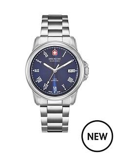 roamer-roamer-swiss-blue-dial-corporal-silver-tone-stainless-steel-bracelet-mens-watch