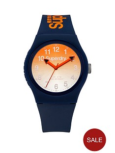superdry-urban-ombre-dial-with-laser-navy-silicone-strap-unisex-watch