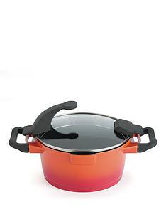 virgo-orange-24-cm-non-stick-casserole-pot